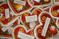 Lectar, gingerbread hearts