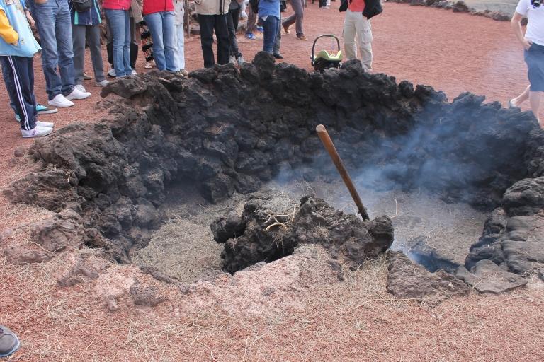 Timanfaya fire land