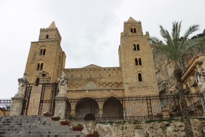 The cathedral, Cefalu