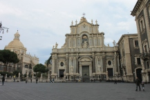 The main square in Catania