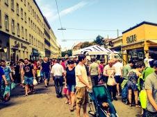 Multicultural food market
